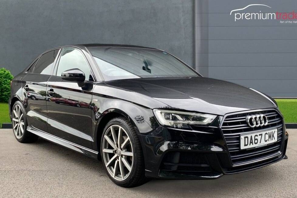 Audi A3 1.6 TDI Black Edition (s/s) 4dr (DA67CMK)